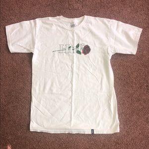 HUF rose t-shirt
